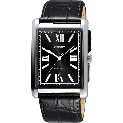 ORIENT 東方錶 羅馬雅仕簡約石英腕錶-黑/32mm