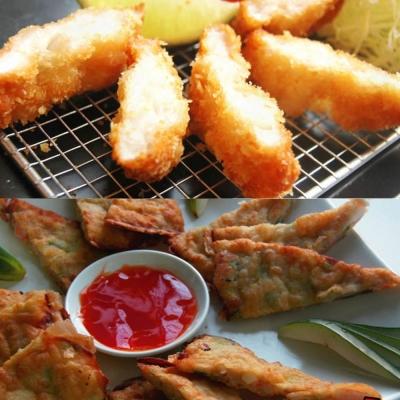 【澎湖尚浩】月亮蝦餅+花枝蝦排