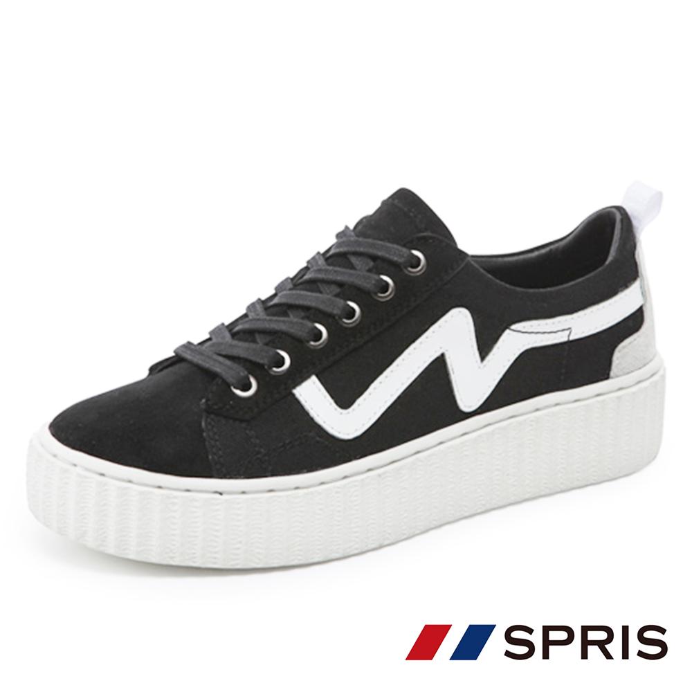 周子瑜TWICEx韓國SPRIS 聯名鞋款 UPBEAT 心跳悸動帆布鞋系列-黑