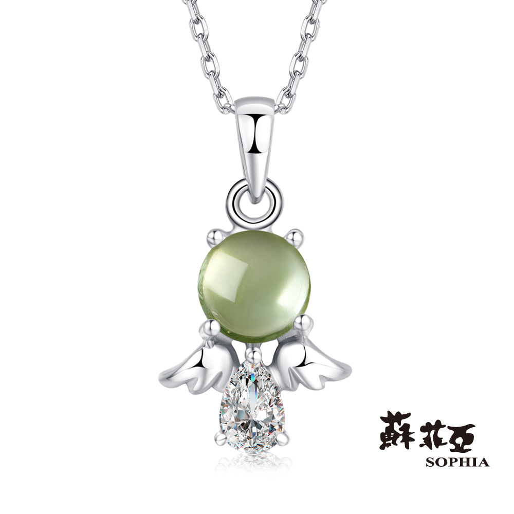 蘇菲亞SOPHIA 寶石項鍊-寶貝蛋 碧璽項鍊
