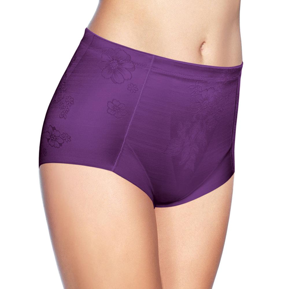 黛安芬-ULTRA美腹勻體褲束褲M-EL加高款桔梗紫