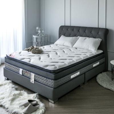 H&D 波斯系列-舒眠四線記憶恆溫獨立筒床墊-雙人5尺