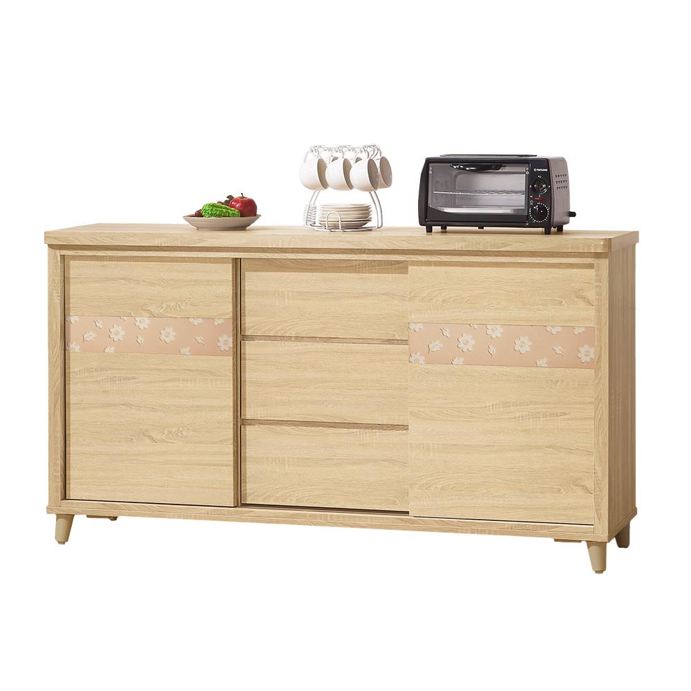 Bernice-艾麗卡5.1尺收納餐櫃-154x47x85cm
