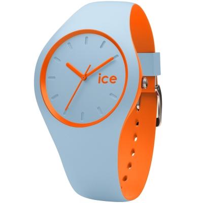 Ice-Watch 玩色系列 炫彩新時尚手錶-天空藍x橘/41mm