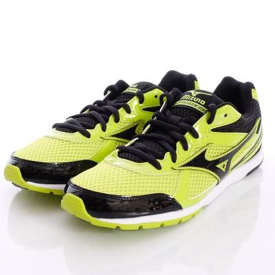 MIZUNO童鞋-輕量路跑鞋-GC152109黑黃(中大童段)
