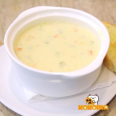 極鮮配 奶油雞肉玉米濃湯 (220g±10%/包)-10包入