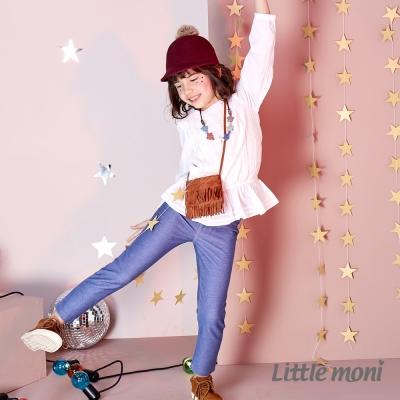 Little moni 彈性牛仔合身褲 (共2色)
