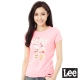 Lee 城市短袖T恤-女-粉紅