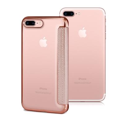 COLORS Apple iPhone 7 Plus 5.5吋 法式浪漫裸背皮套