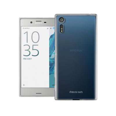 Metal-Slim Sony Xperia XZ 時尚超薄TPU透明軟殼