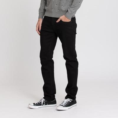 Hang Ten - 男裝 - 俐落剪裁牛仔褲 - 黑