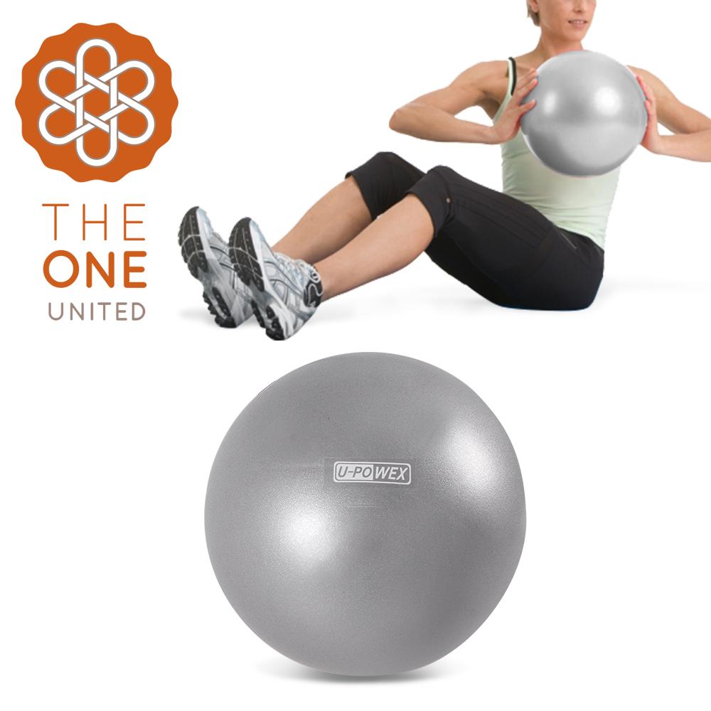 【The One】環保PVC皮拉提斯健身瑜珈球/彈力球(附吹氣管)-30cm銀色 @ Y!購物