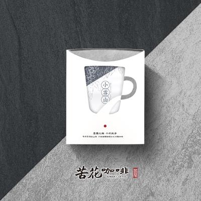 苦花咖啡 台灣高山咖啡-100%純台灣咖啡 耳掛20入(小雪山系列)