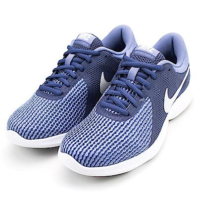 NIKE-女慢跑鞋908999401-藍