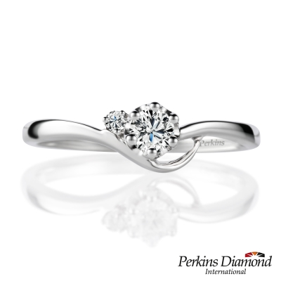 PERKINS 伯金仕 - Athena系列 0.12克拉鑽石戒指