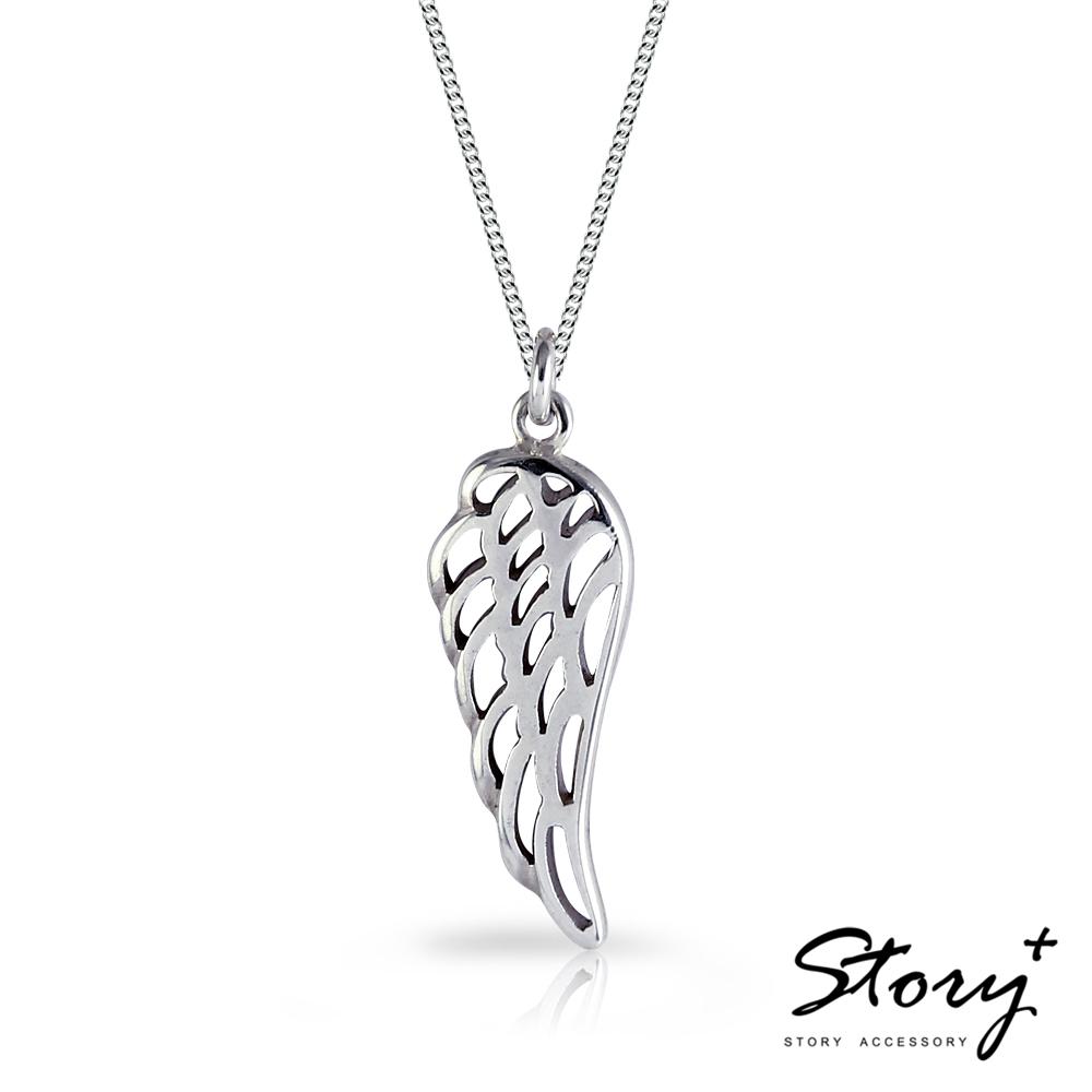 STORY故事銀飾-夢想高飛 925純銀項鍊