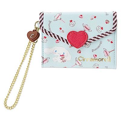 Sanrio SANRIO明星甜蜜愛心系列PU皮革情書造型票夾包(大耳狗喜拿)