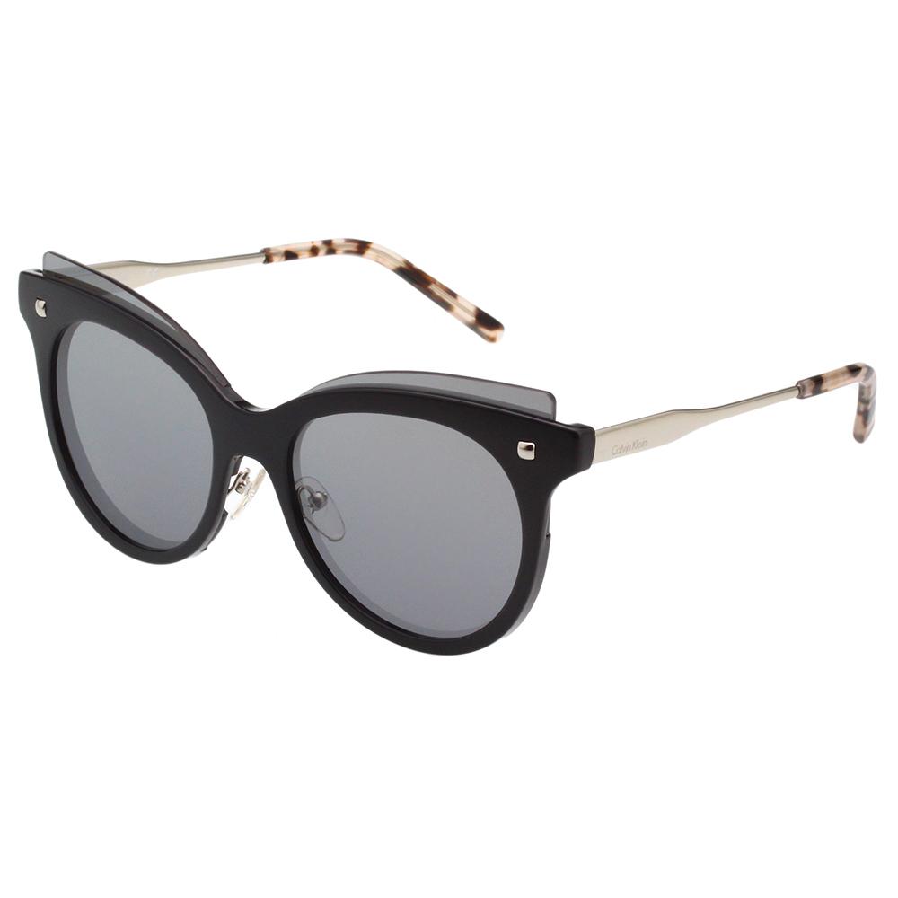 Calvin Klein- 水銀面 太陽眼鏡(黑色)CK3196S @ Y!購物