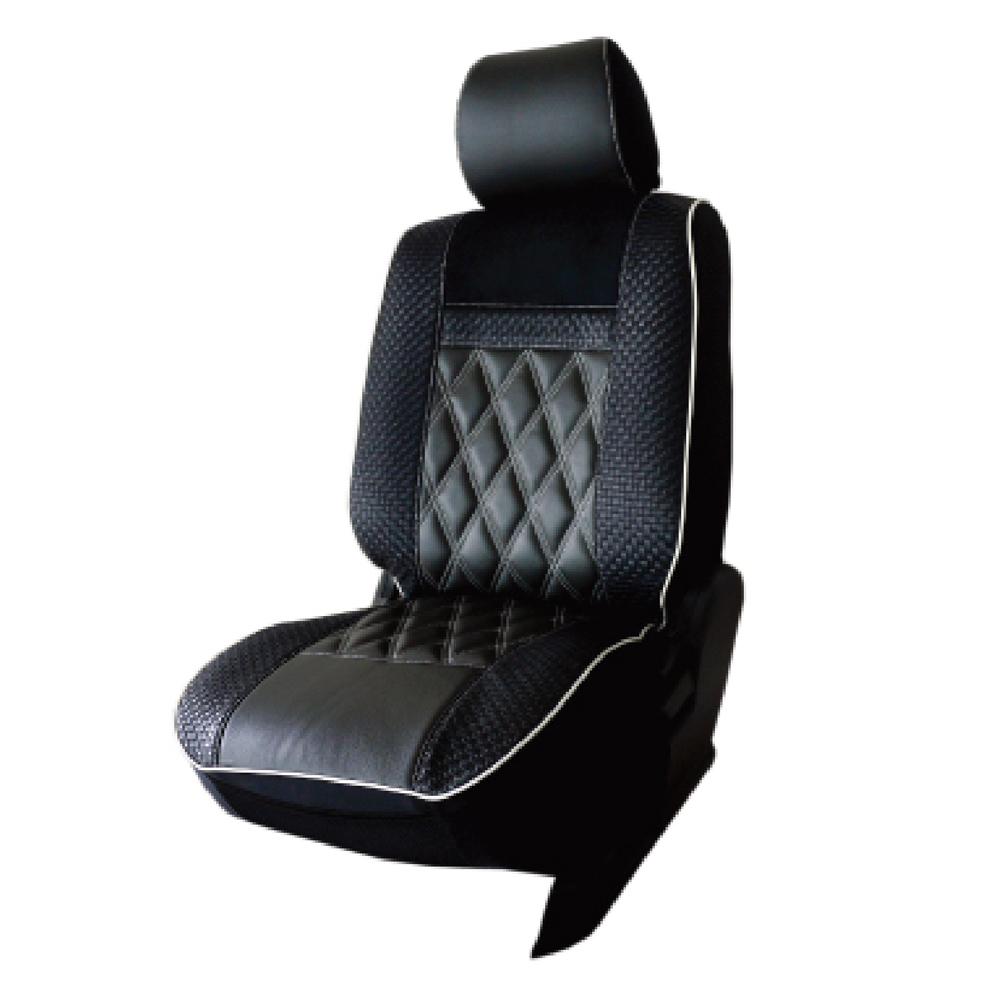 葵花 量身訂做 沙發型汽車椅套 帝王黑 轎車款(1+2排)
