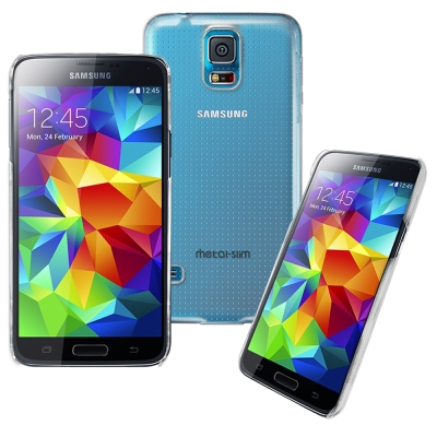 Metal-Slim Samsung Galaxy S5 PC透明系列 新型保護...