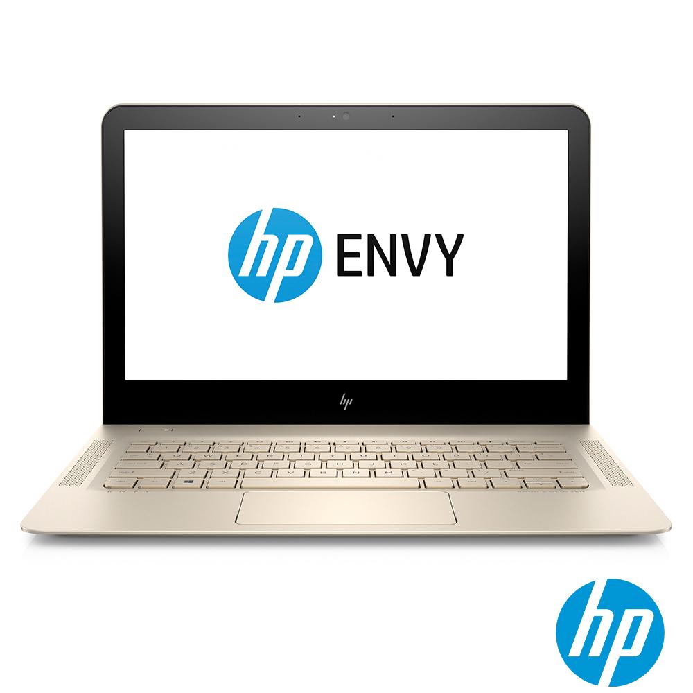 HP ENVY 13-ad070TU 13吋輕薄筆電-時尚金( i5-7200U/256