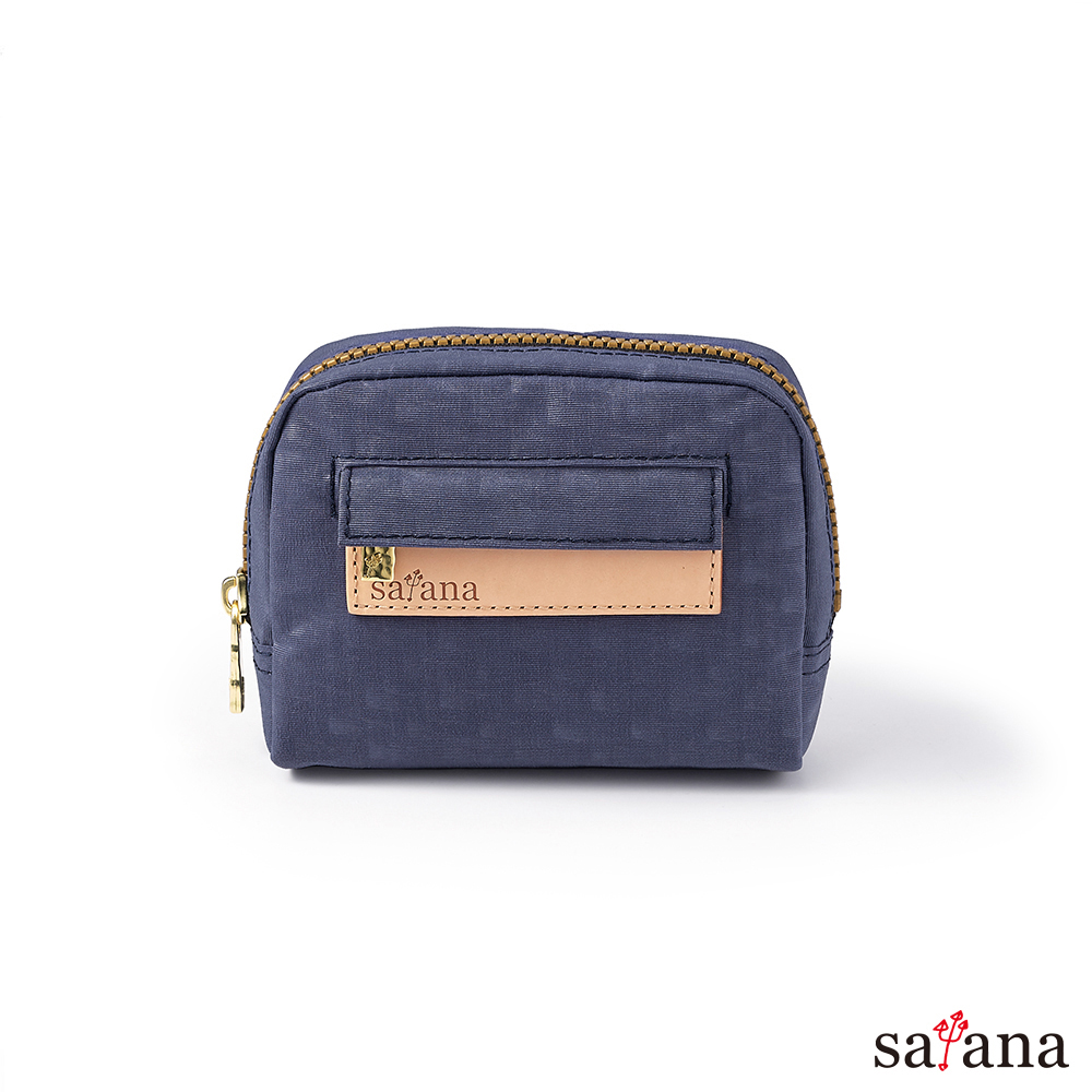 satana -Soldier Mini隨身化妝包/零錢包-夜影藍