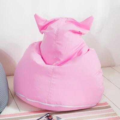 椅的世界 喵喵造型 懶骨頭 粉紅
