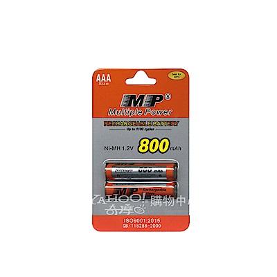 MP 四號鎳氫充電電池 AAA 適用數位式無線電話相容HHR-55AAAB