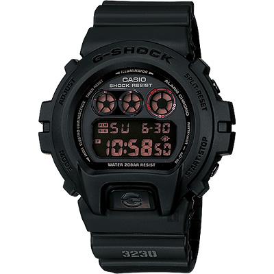 CASIO 卡西歐 G-SHOCK 經典坦克腕錶-霧黑/53mm