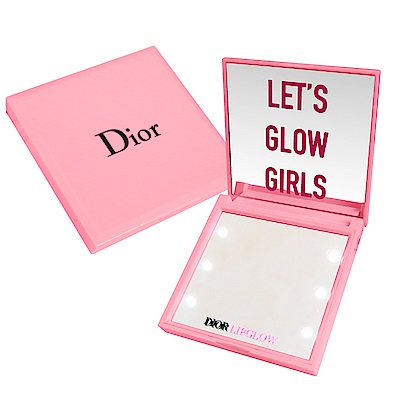Dior 迪奧 癮誘巨星LED燈雙面隨身鏡