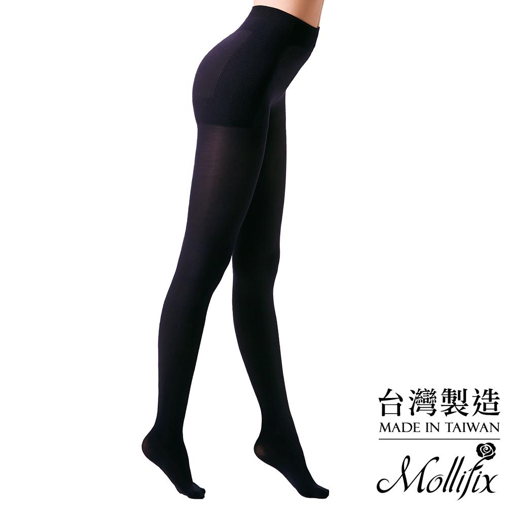 Mollifix瑪莉菲絲 280丹踮腳尖美尻型塑襪-全長款- 黑