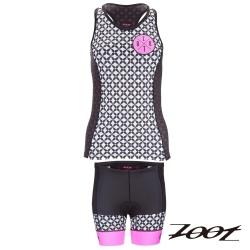ZOOT優雅經典款鐵人服(兩截式)(女)Z1606043+44 (螢光桃)