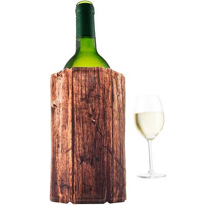 VACU VIN Wine軟性保冷冰桶(木紋1L)
