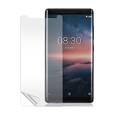 VXTRA Nokia 8 Sirocco 高透光亮面耐磨保護貼
