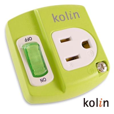 Kolin 1切1孔分接式插座_KEX-EH0813