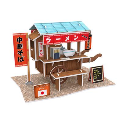 世界之窗 3D立體拼圖 《日本》 拉麵車 3D World Style