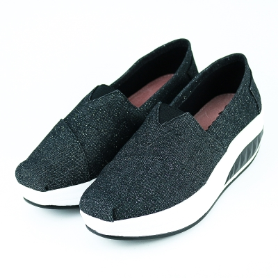 XCESS-女休閒鞋GW043BLK-黑