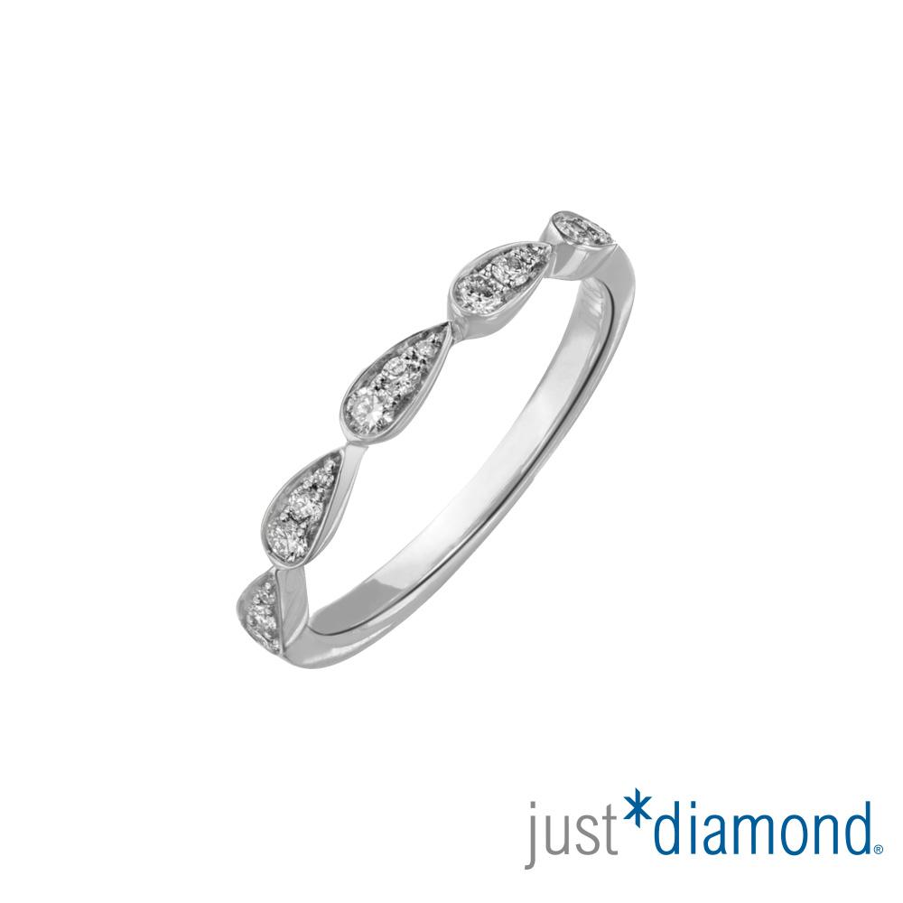 Just Diamond 18K金 鑽石戒指-Shining Heart