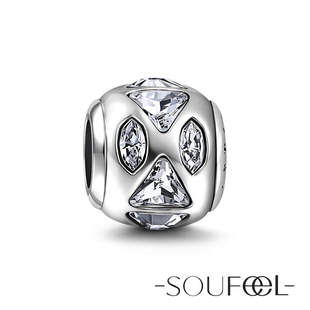 SOUFEEL索菲爾 925純銀珠飾 樂觀 串珠
