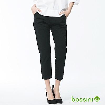 bossini女裝-彈力修身褲01黑