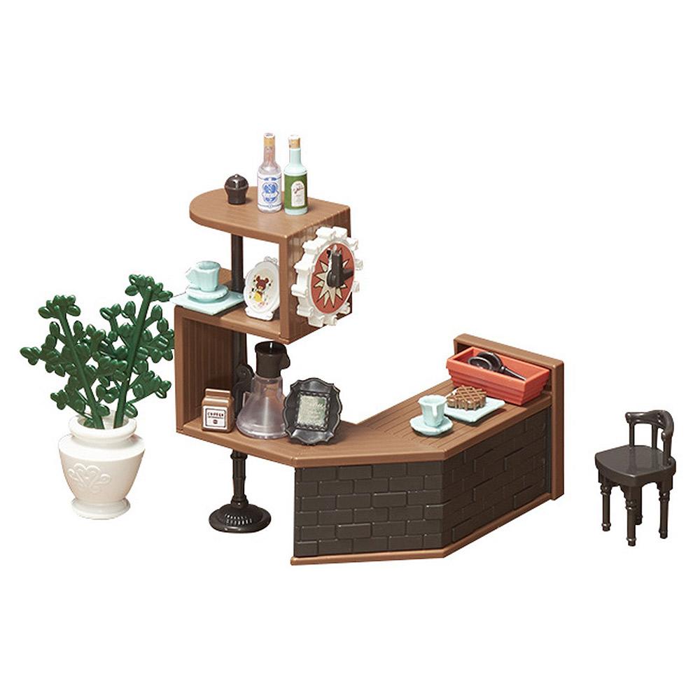 BANDAI 組裝模型 Haco Room 小熊學校 咖啡吧檯組