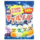Kabaya卡巴 雙倍蘇打綜合水果糖(140g)