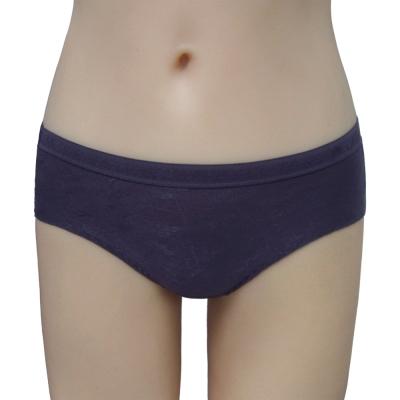 曼黛瑪璉-2014SS 中腰三角夜間生理褲(時尚紫)