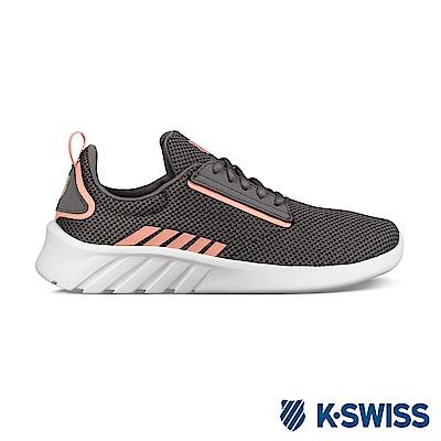 K-swiss Aeronaut 輕量訓練鞋-女-灰/蜜桃橘