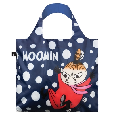 LOQI 春捲包|Moomin - 小不點藍