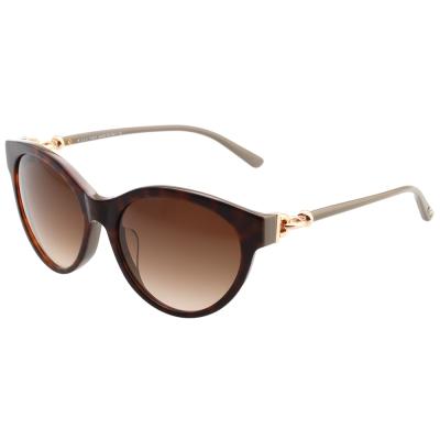 TOD'S 釦環款 小貓眼 太陽眼鏡 (琥珀色)TO154F