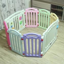 YIP Baby 安全遊戲圍欄(6+2片組)
