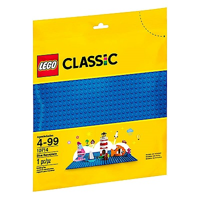 LEGO樂高 經典系列 10714 藍色底板