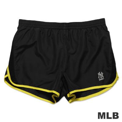 MLB-紐約洋基隊透氣運動短褲-黑(女)