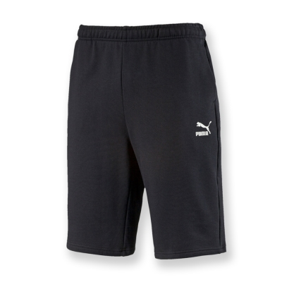 PUMA-男性流行系列百慕達短褲-黑色-亞規